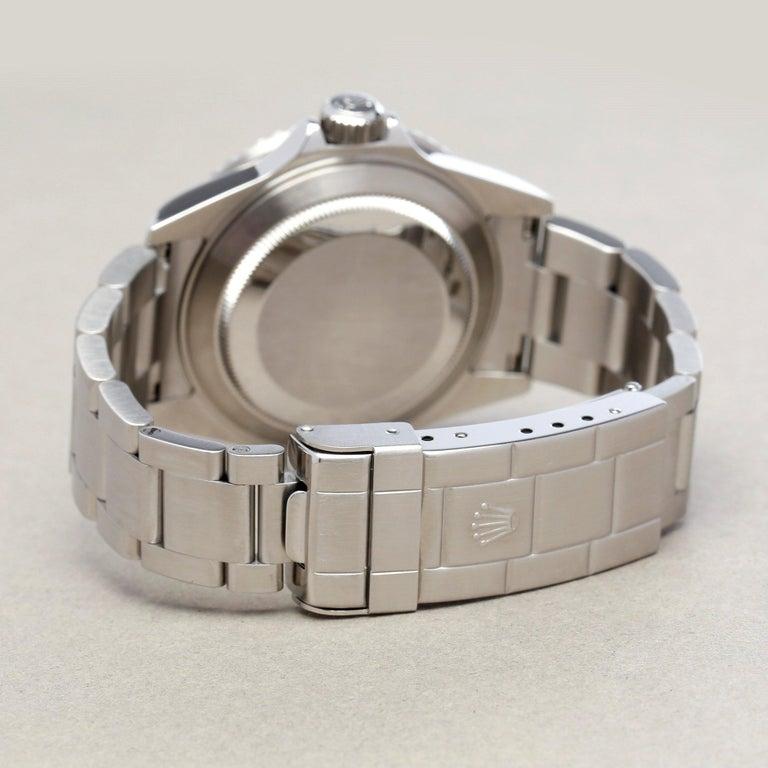 Rolex Submariner Date 16610LV Men's Stainless Steel Kermit' Watch For Sale 5