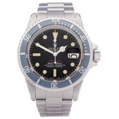 Rolex Submariner Date 1680 Men Stainless Steel Single Red' Watch