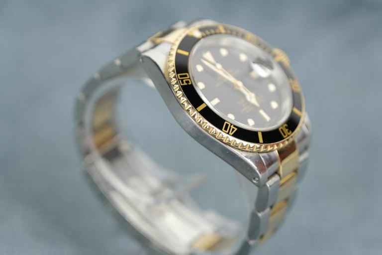 Rolex Submariner Date 18 Karat Gold For Sale 1