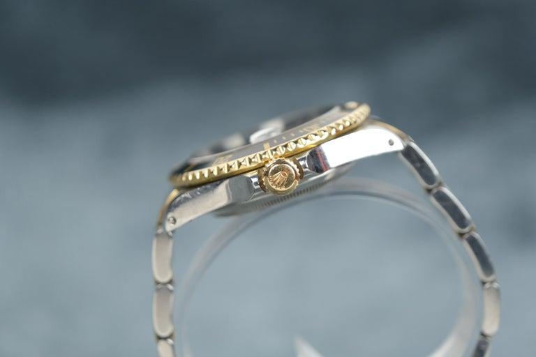 Rolex Submariner Date 18 Karat Gold For Sale 2