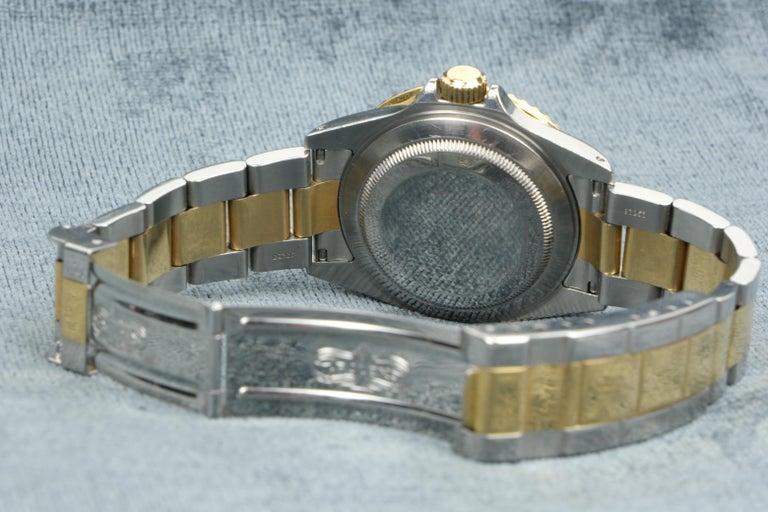 Rolex Submariner Date 18 Karat Gold For Sale 4