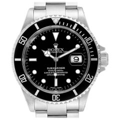 Rolex Submariner Date 40 Stainless Steel Automatic Men's Watch 16610
