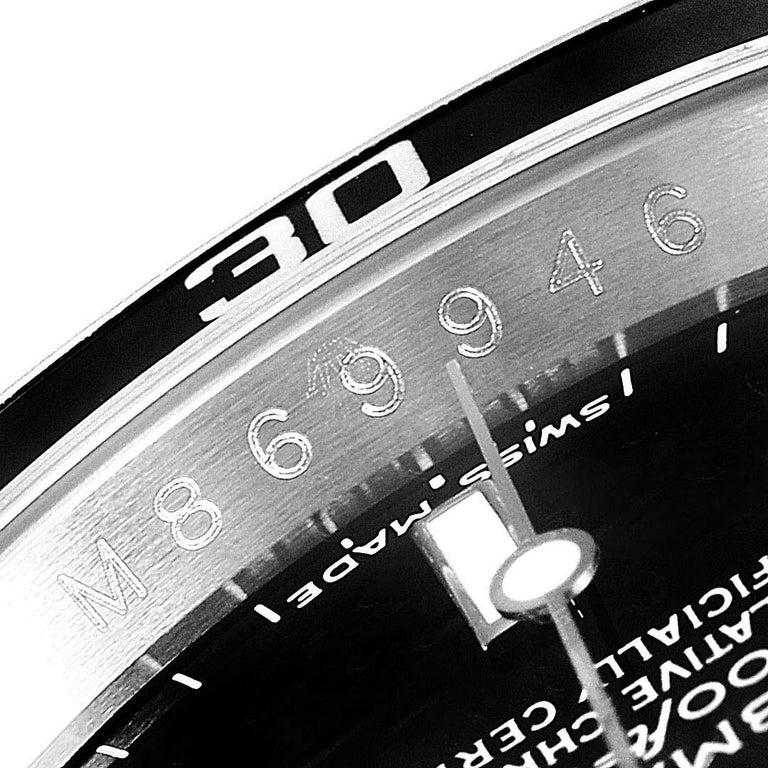 Rolex Submariner Date Stainless Steel Men's Watch 16610 Box Card 3
