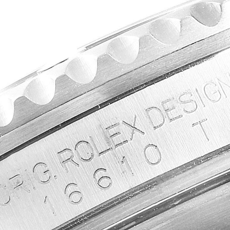 Rolex Submariner Date Stainless Steel Men's Watch 16610 Box Card 4