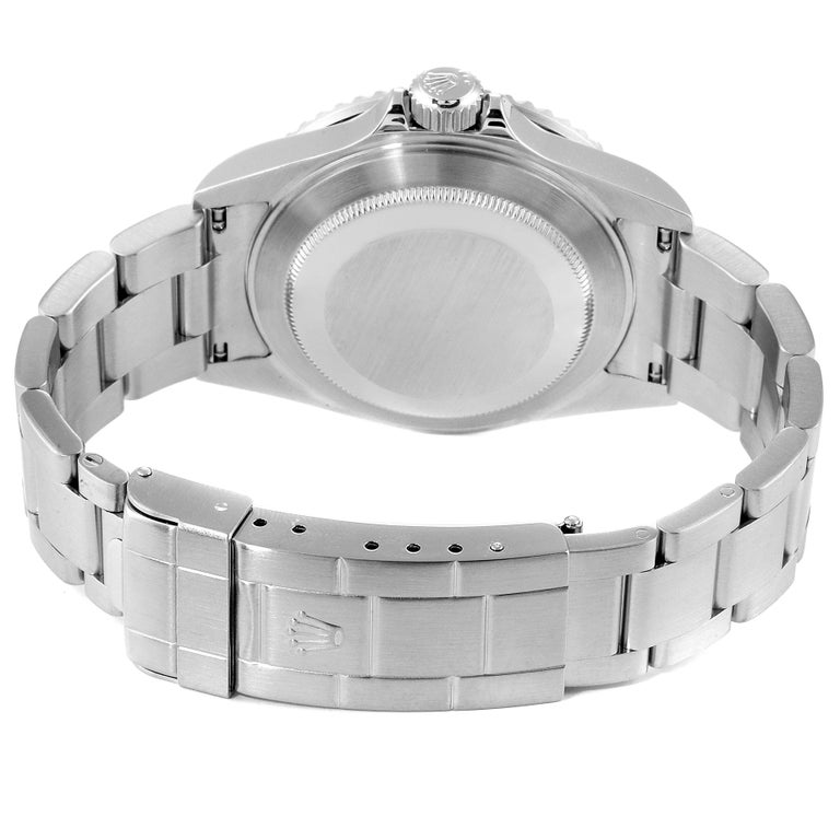 Rolex Submariner Date Stainless Steel Men's Watch 16610 Box Card 6