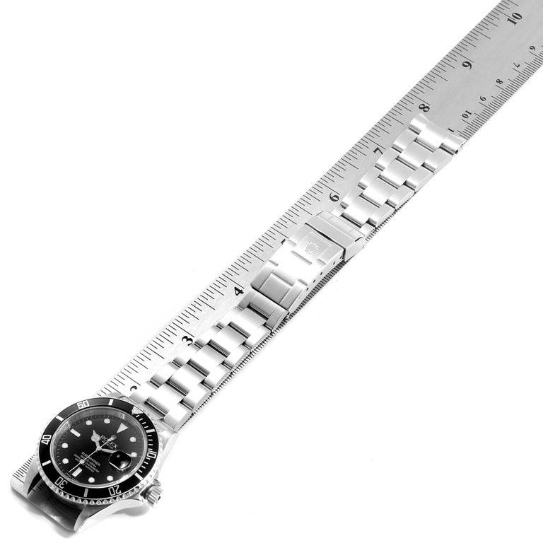 Rolex Submariner Date Stainless Steel Men's Watch 16610 7