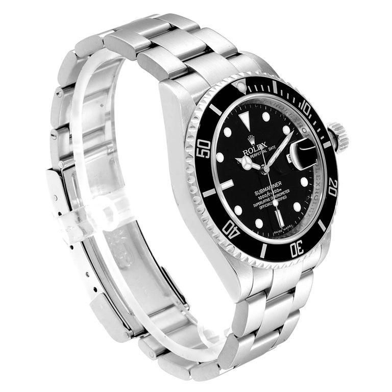 Rolex Submariner Date Stainless Steel Men's Watch 16610 1