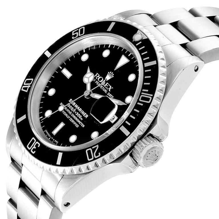 Rolex Submariner Date Stainless Steel Men's Watch 16610 2