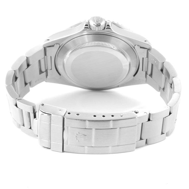 Rolex Submariner Date Stainless Steel Men's Watch 16610 6
