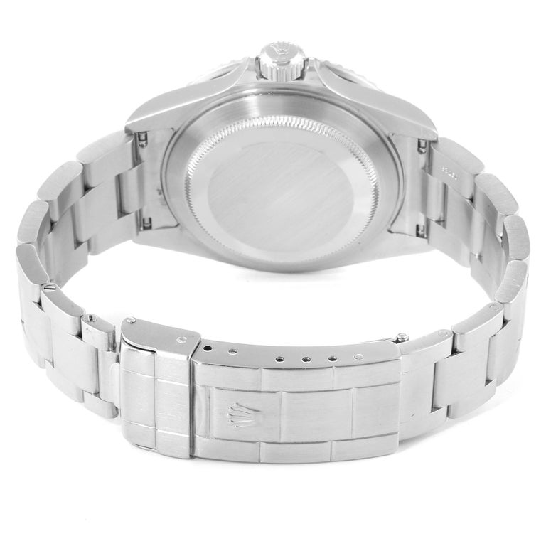 Rolex Submariner Date Stainless Steel Men's Watch 16610 For Sale 6