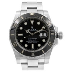Rolex Submariner Date Black Dial Cerachrom Bezel Steel Men's Watch 116610LN