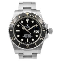 Rolex Submariner Date Black Dial Ceramic Bezel Automatic Men's Watch 116610LN