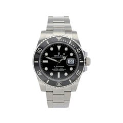 Rolex Submariner Date Black Dial in Stainless Steel Ceramic Bezel, Papers 'R-41'