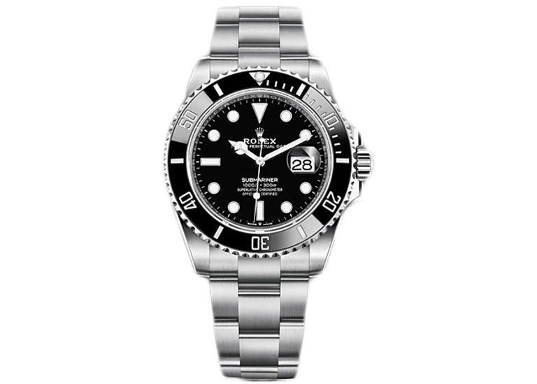 Rolex Submariner Date Black Dial Men's Diving Watch 126610LN In New Condition For Sale In Wilmington, DE
