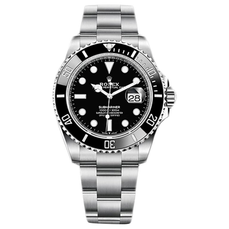 Rolex Submariner Date Black Dial Men's Diving Watch 126610LN For Sale