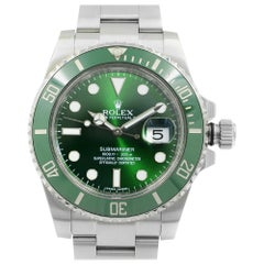 Rolex Submariner Date Hulk Steel Ceramic Green Dial Automatic Men Watch 116610LV