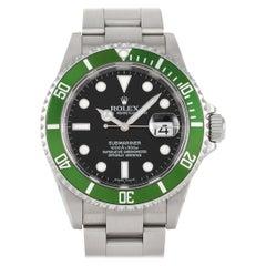 """Rolex Submariner Date """"Kermit"""" Watch 16610LV"""