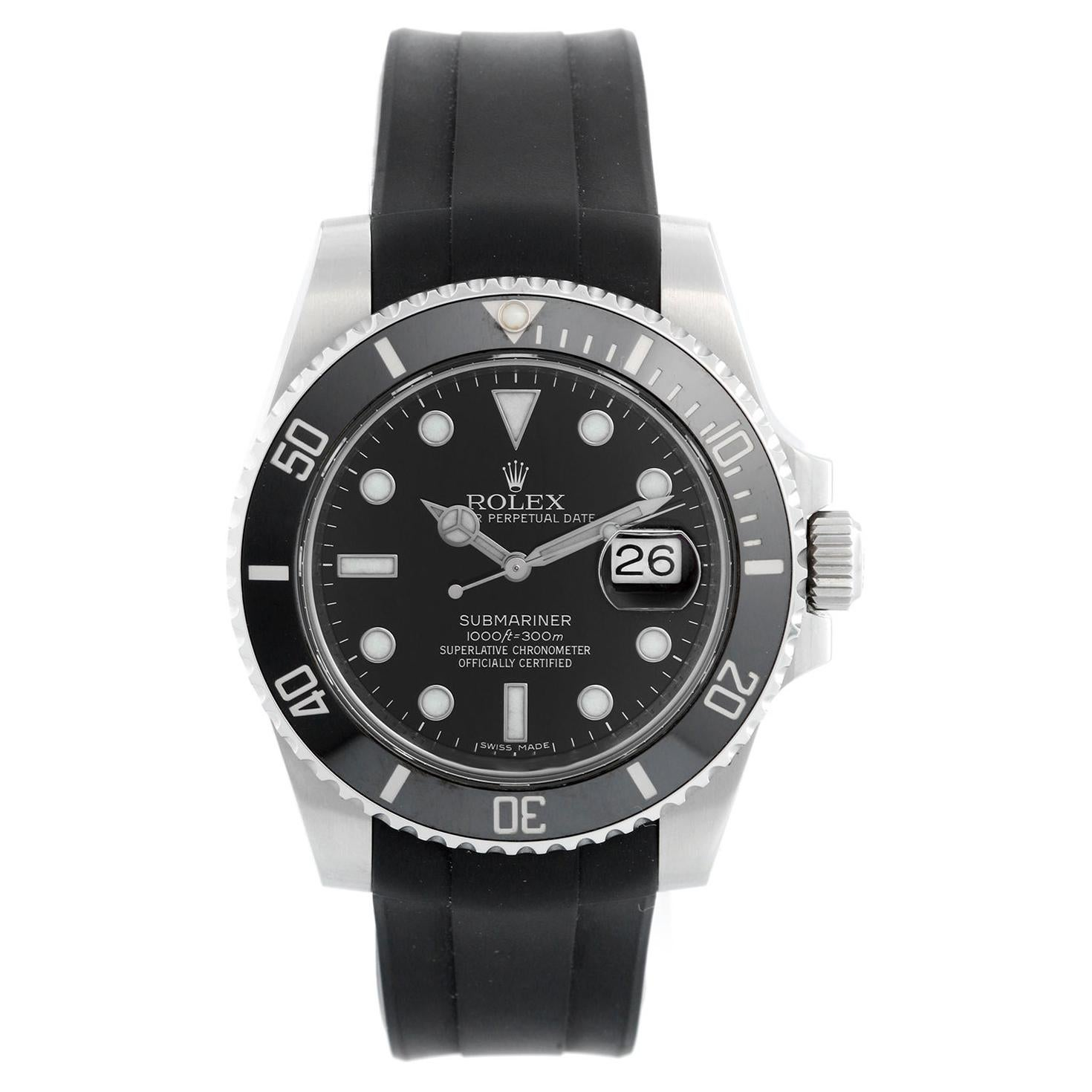 Rolex Submariner Date Men's Stainless Steel Watch 116610 LN
