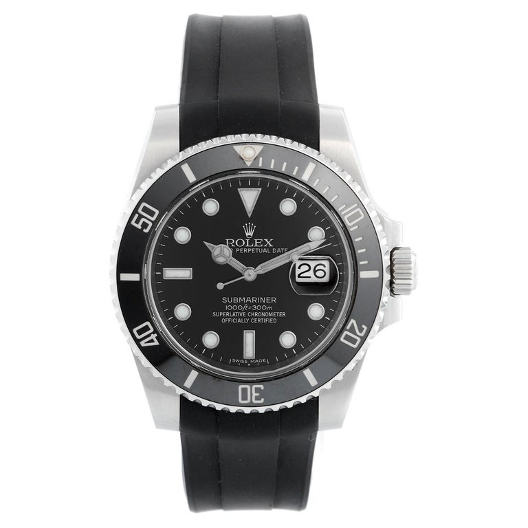 Rolex Submariner Date Men's Stainless Steel Watch 116610 LN For Sale