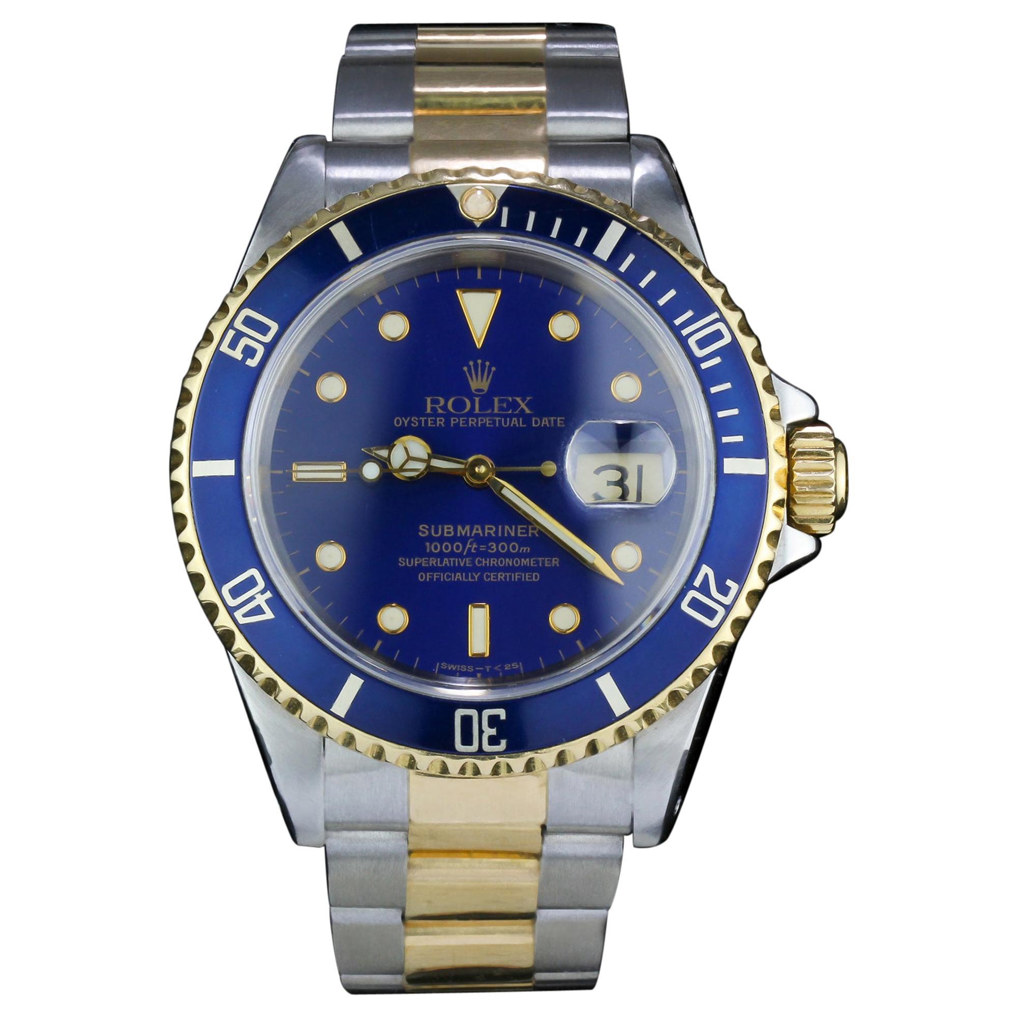Rolex Submariner Date Ref 16613