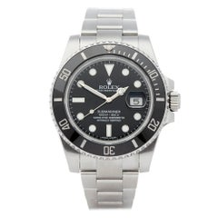 Rolex Submariner Date Stainless Steel 116610LN