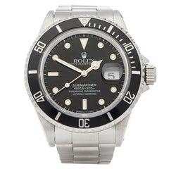 Rolex Submariner Date Stainless Steel 16610LN