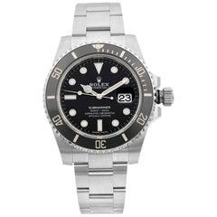 Rolex Submariner Date Stainless Steel Black Dial Men's Watch 116610LN