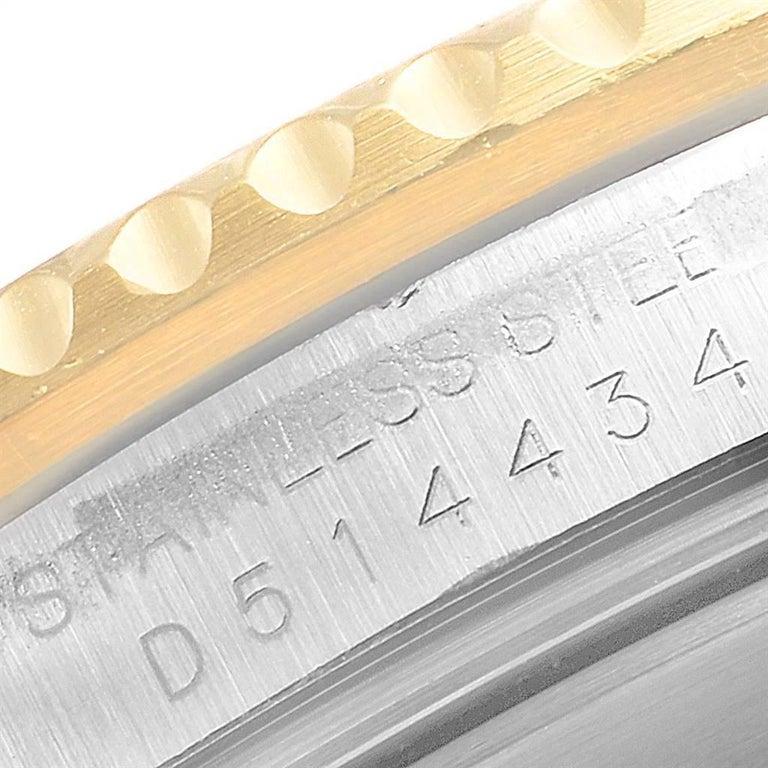 Rolex Submariner Date Steel 18 Karat Yellow Gold Men's Watch 16613 For Sale 3