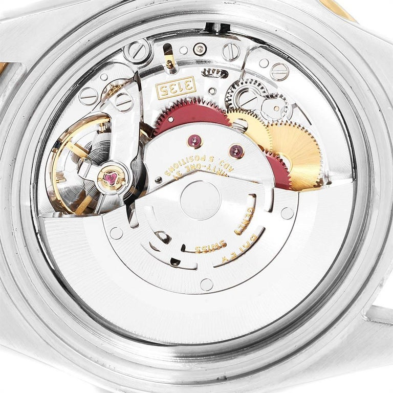 Rolex Submariner Date Steel 18 Karat Yellow Gold Men's Watch 16613 For Sale 4