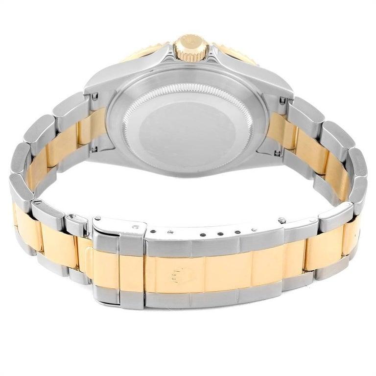 Rolex Submariner Date Steel 18 Karat Yellow Gold Men's Watch 16613 For Sale 5