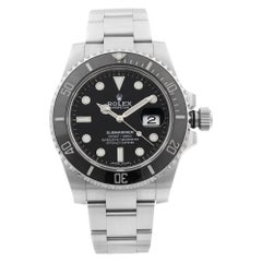 Rolex Submariner Date Steel Ceramic Black Dial Automatic Men's Watch 116610LN