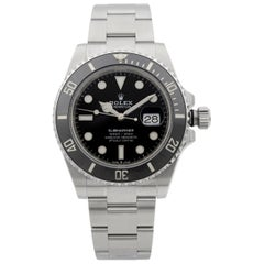 Rolex Submariner Date Steel Ceramic Black Dial Men's Watch 126610LN