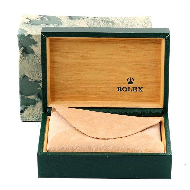 Rolex Submariner Date Steel Men's Vintage Watch 16800 Box 7