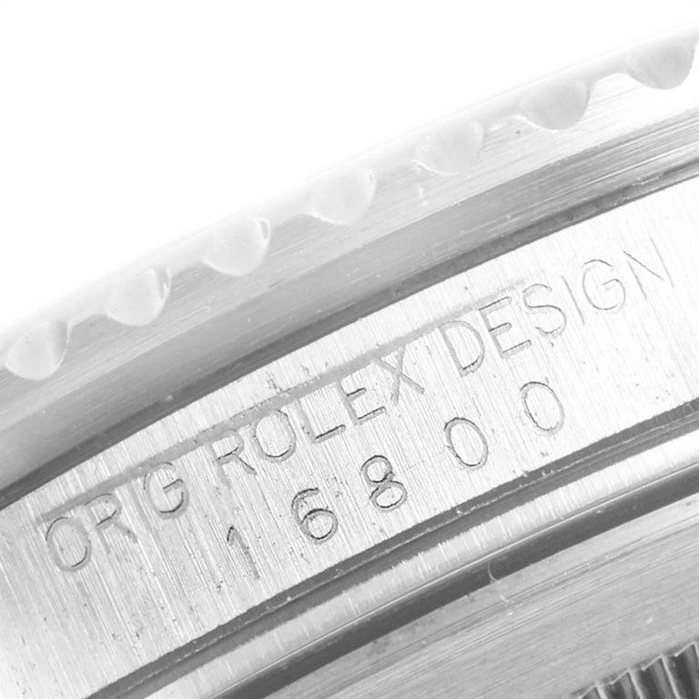 Rolex Submariner Date Steel Men's Vintage Watch 16800 Box 2