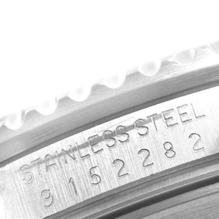 Rolex Submariner Date Steel Men's Vintage Watch 16800 Box 3