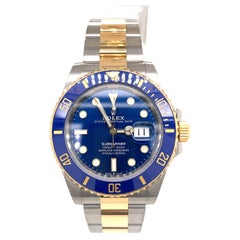Rolex Submariner Date Two Tone Blue Dial 126613LB 2021