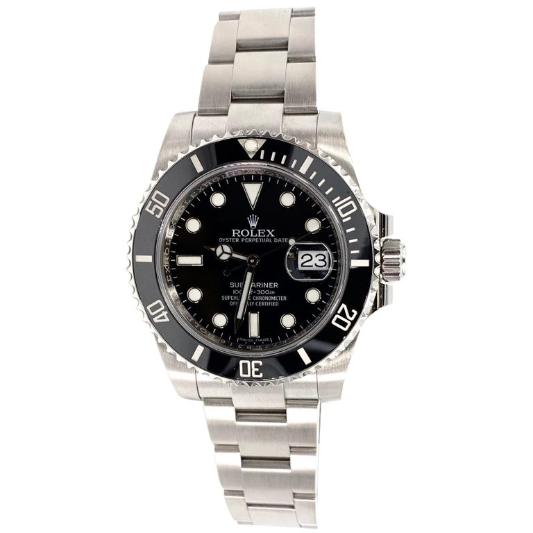Rolex Submariner Date Watch 116610LN For Sale