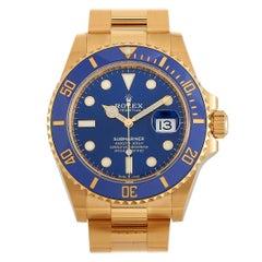 Rolex Submariner Date Yellow Gold Watch 126618LB