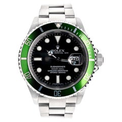Rolex Submariner Green 50th Anniversary Edition M16610LV