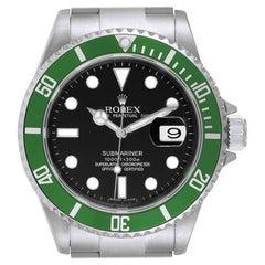 Rolex Submariner Green 50th Anniversary Men's Watch 16610LV