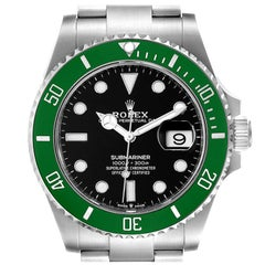 Rolex Submariner Green Kermit 41 Steel Men's Watch 126610LV Unworn