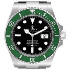 Rolex Submariner Green Kermit Cerachrom Men's Watch 126610LV Unworn