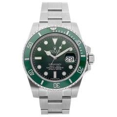Rolex Submariner Hulk Edition Green Dial and Bezel Steel