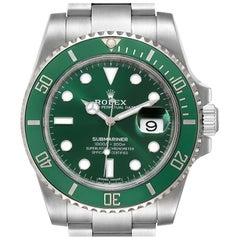 Rolex Submariner Hulk Green Dial Bezel Men's Watch 116610LV Unworn