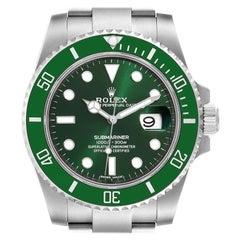 Rolex Submariner Hulk Green Dial Bezel Steel Mens Watch 116610 Unworn
