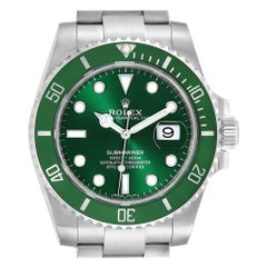 Rolex Submariner Hulk Green Dial Bezel Steel Men's Watch 116610LV