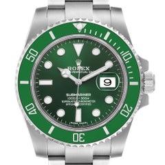 Rolex Submariner Hulk Green Dial Bezel Steel Mens Watch 116610LV