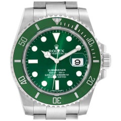 Rolex Submariner Hulk Green Dial Bezel Steel Steel Men's Watch 116610LV