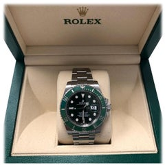Rolex Submariner Hulk Green Dial Bezel Watch 116610LV