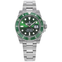 Rolex Submariner Hulk Green Steel Ceramic Automatic Men's Watch 116610LV